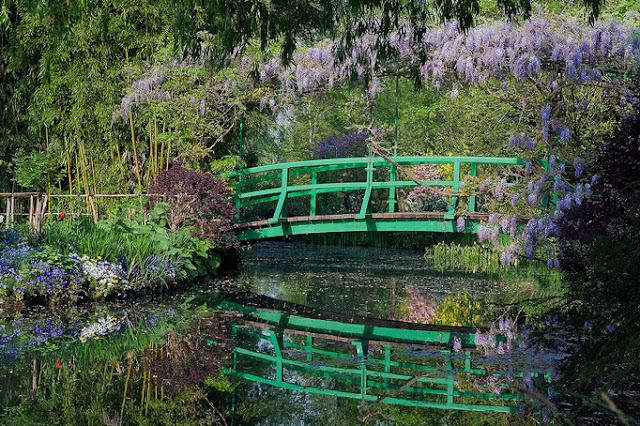 jardin aux nymphéas de Claude Monet à Giverny