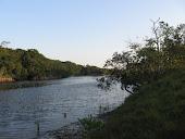 Lagune près d'Enamino