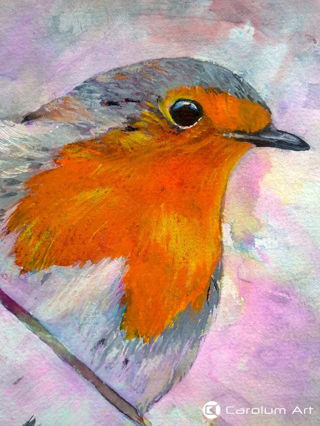 detalle-del-petirrojo-ilustracion-carolum-art