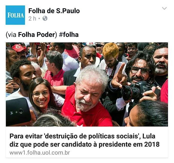 Lula pretende disputar eleição presidencial