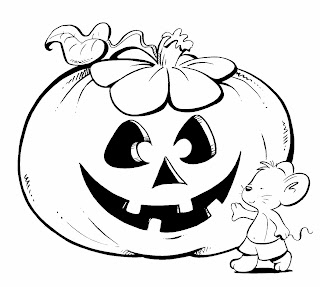 Halloween Pumpkins for Coloring, part 1