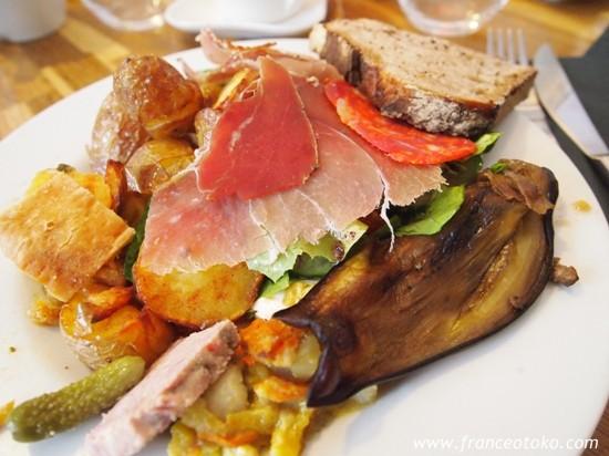 un jour un chef bruch bastille バスチーユのブランチ