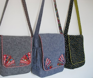 Free sewing pattern: sew a messenger bag :: Sewing