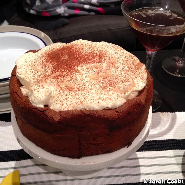 Sarah Cooks Nigella Lawsons Chocolate Cloud Cake