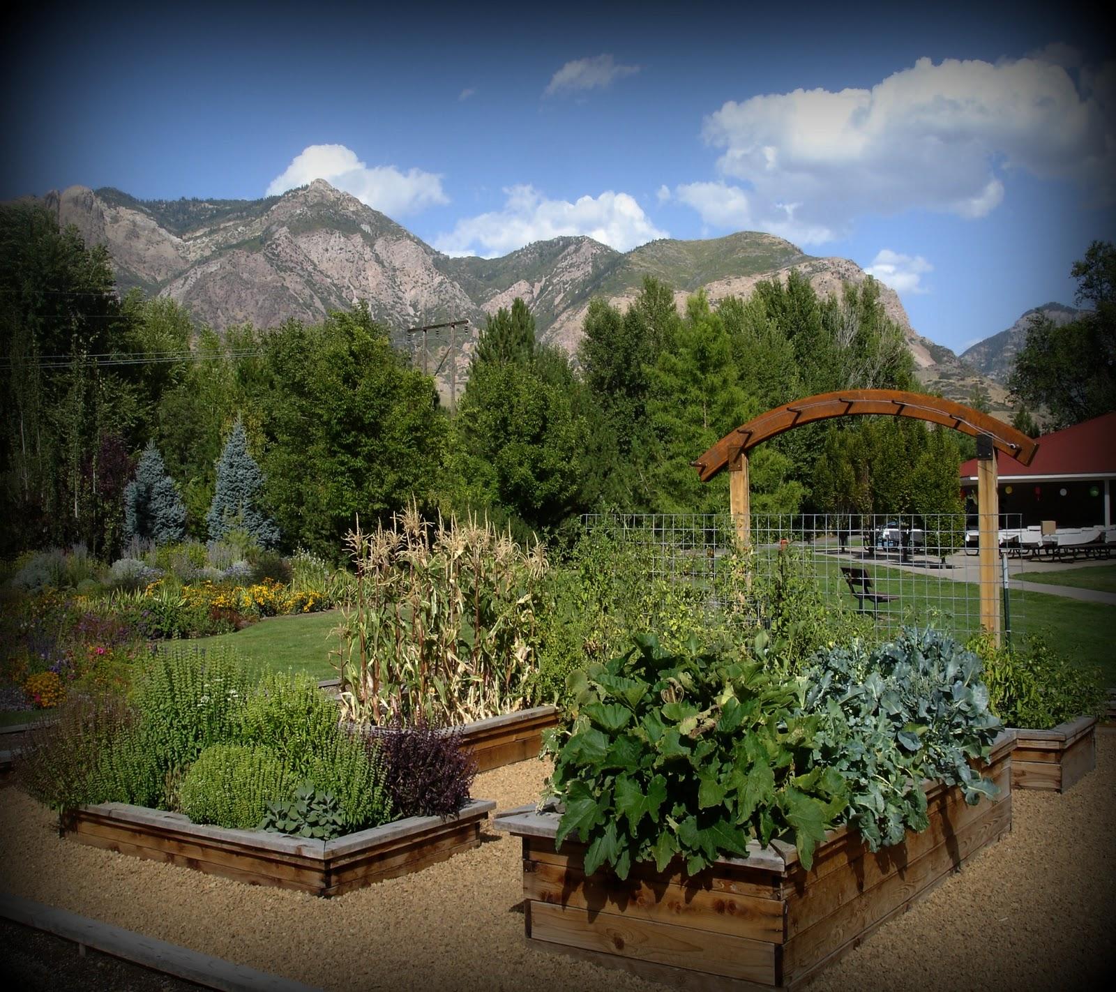 Merveilleux Ogden Botanical Gardens Raised Beds