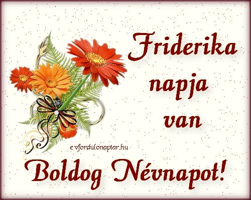 Szeptember 20 - Friderika névnap
