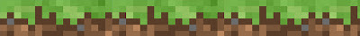 Minecraft widget header bar template