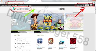 Download aplikasi Android lewat PC