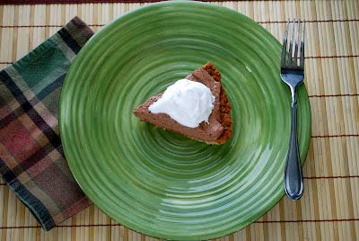 Sugar Free Low Carb Chocolate Cream pie