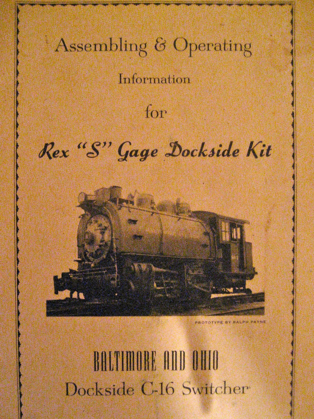 american flyer cabinet top train layout assembling operating information for rex s gage
