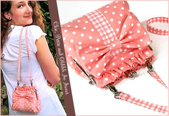 sewing tutorial for Tiny sling handbag
