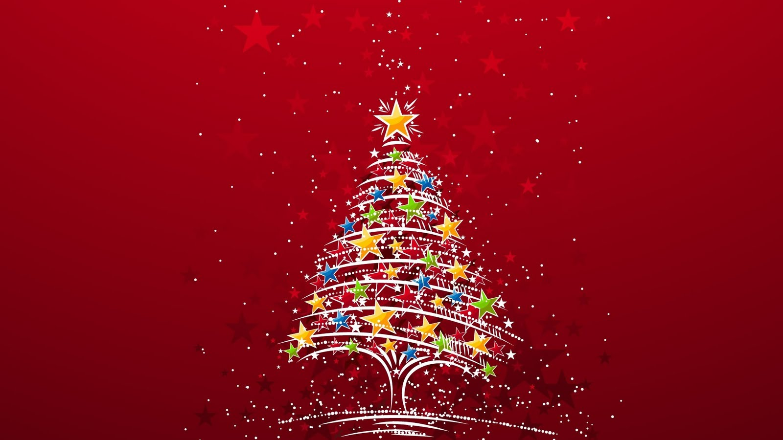 christmas tree colorful wallpapers - Wallpapers for Galaxy Colorful Christmas Tree