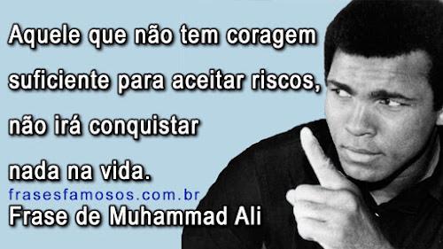 Frase de Muhammad Ali