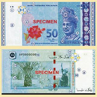 Duit Kertas RM50