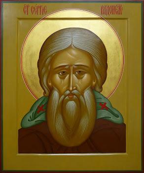Azi 25 septembrie praznuirea Sfantului Serghie de Radonej !