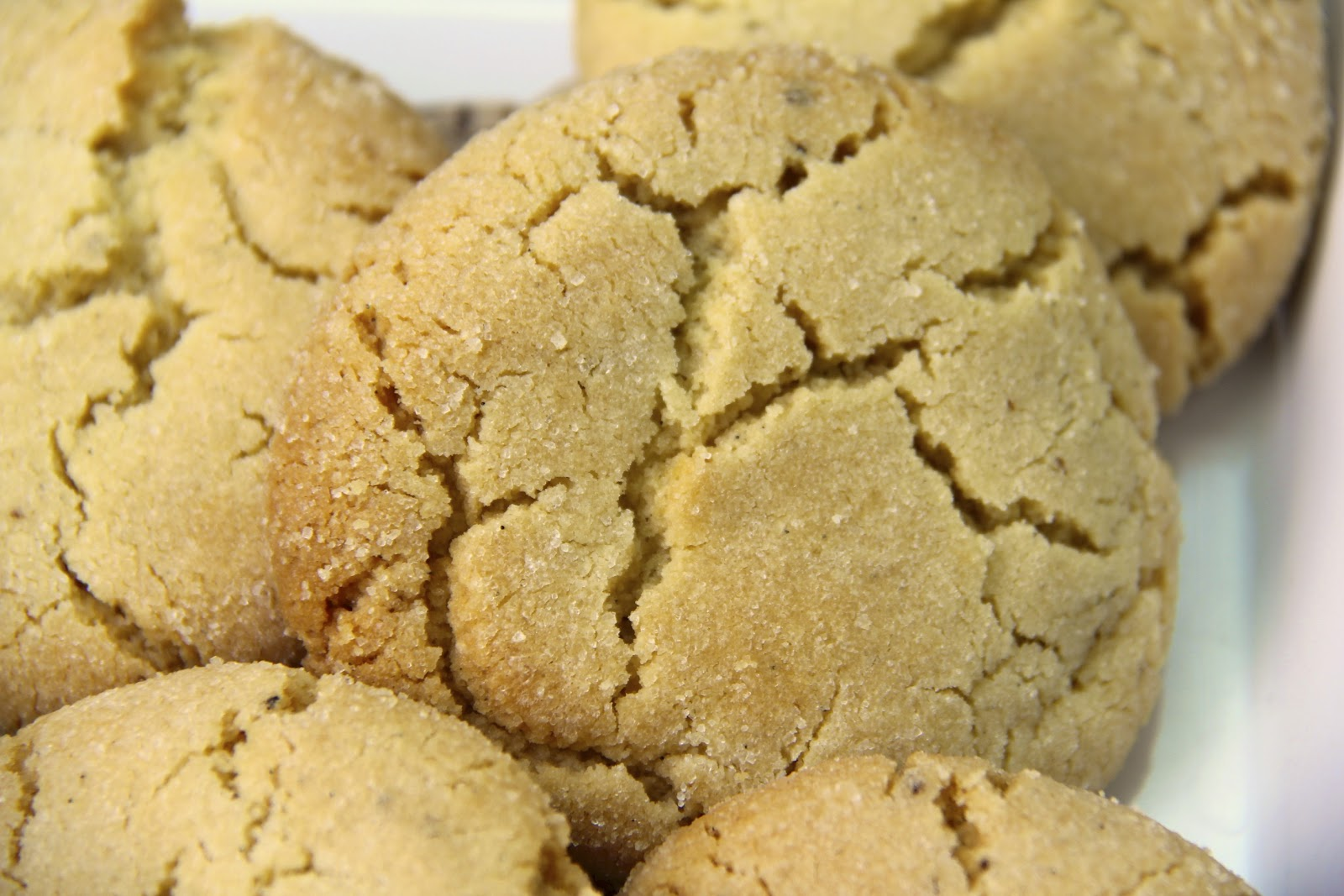 ... vanilla sugar in the cookies resulting in quite phenomenal vanilla