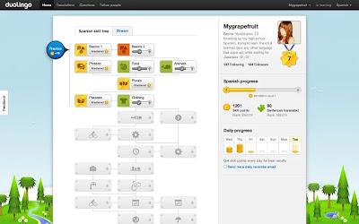 Duolingo para o Google Chrome