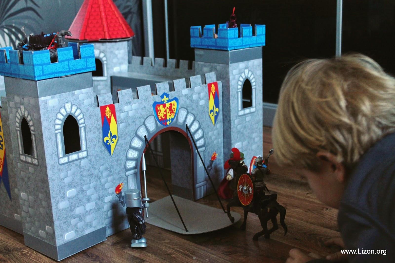 Замок крепость своими руками 102