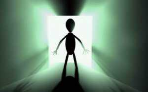 Όνειρο με έναν εξωγήινο