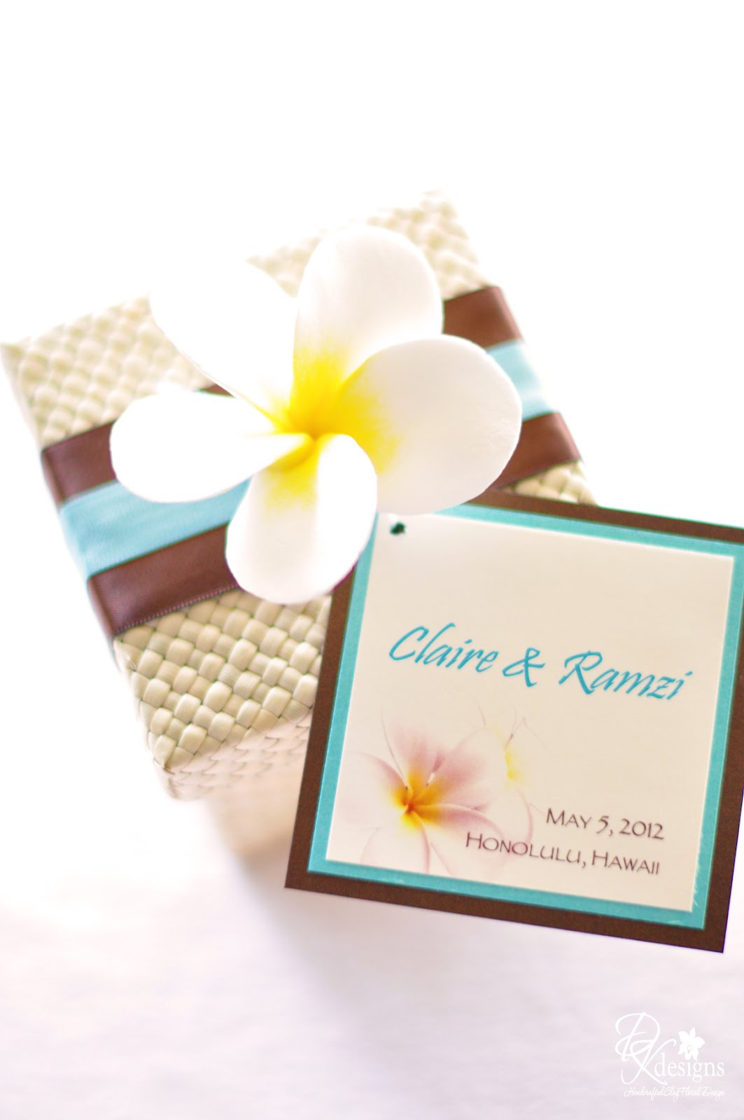 Destination Hawaii Wedding Favors - DK Designs