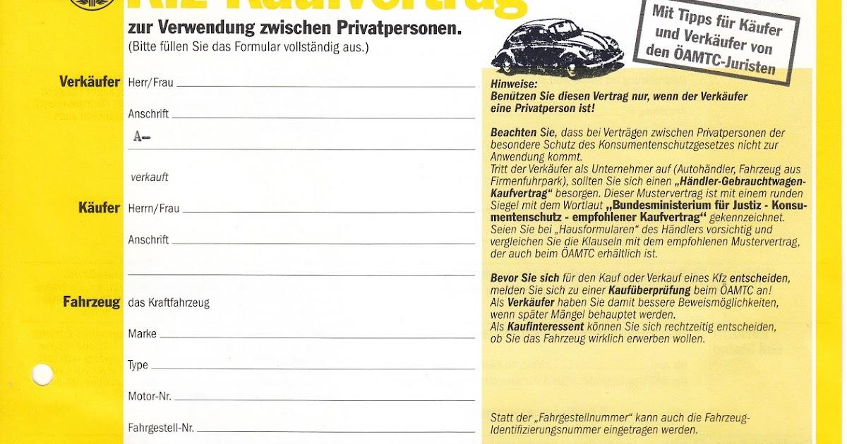 Kfz Kaufvertrag Privat. kaufvertrag in vordruck formular kaufen sie ...