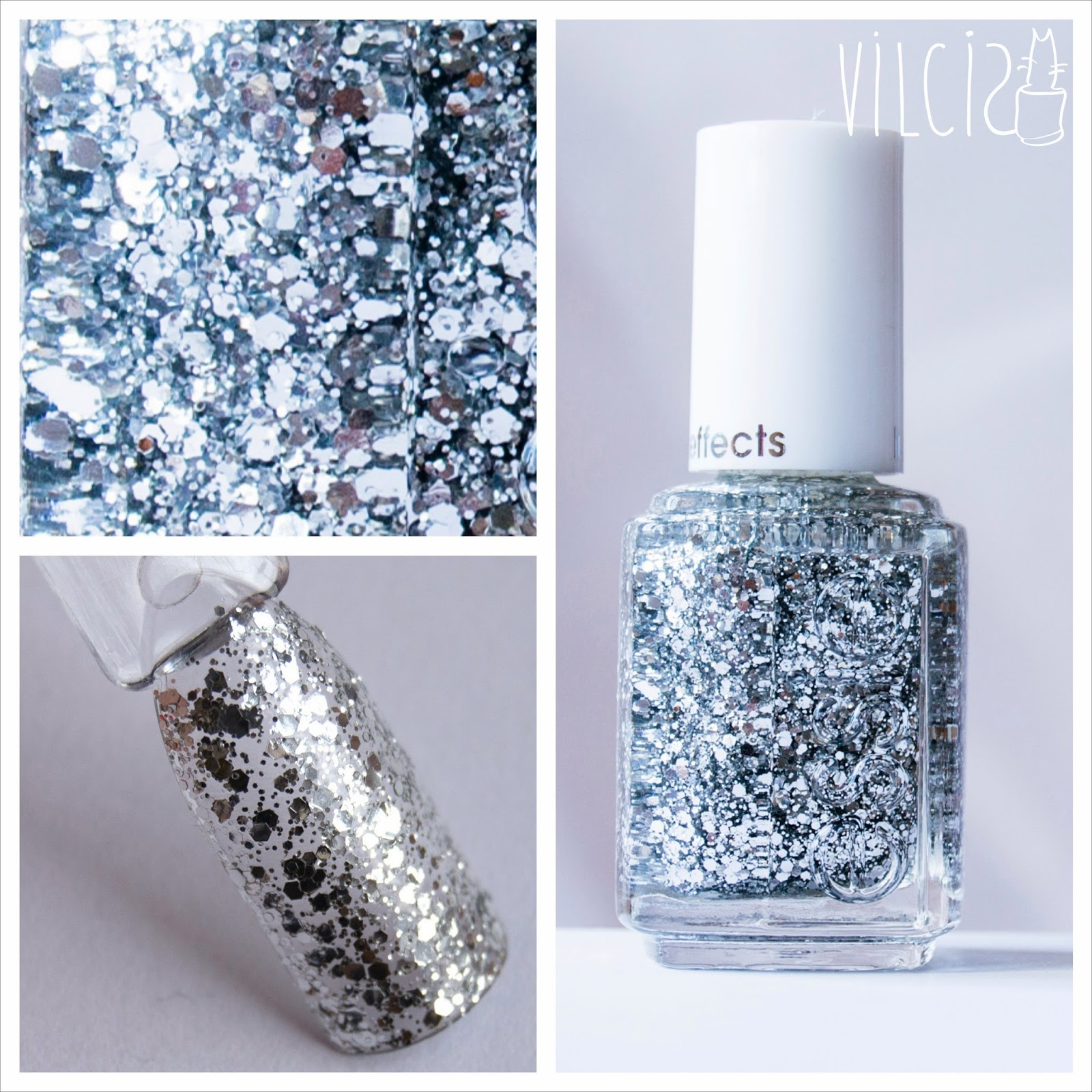 Vilcis nail designs: Últimas compras de esmaltes de purpurina: Essie ...