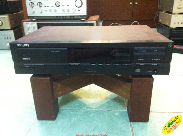 Đầu CD Player - model: CD-600 - Made in Belgium (Bỉ)