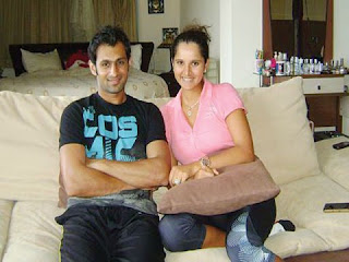 Sania Mirza With Shoaib Malik