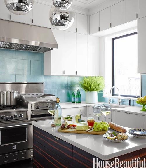 Manhattan Apartment Kitchen Design: Mix And Chic: Home Tour- A Fresh And Gorgeous Manhattan