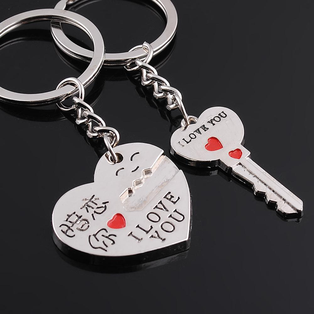 Birthday Heart For Best Friend I Love You Keychain Her