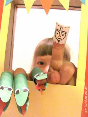 домашний кукольный театр своими руками puppet theatre craft