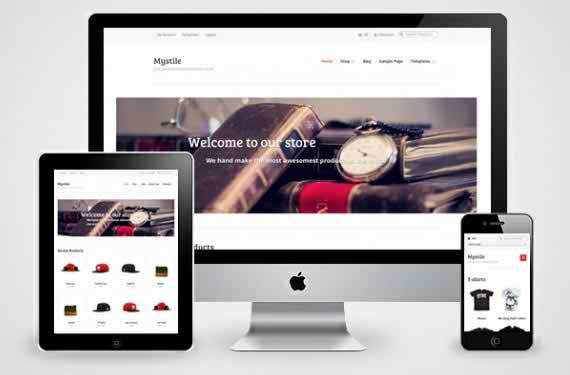 MyStile - free e-commerce WordPress theme