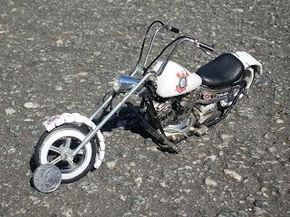 Corinthians- Moto Chopper- Carlinhos Miniaturas