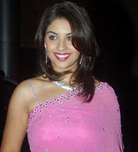 Richa Gangopadhyay Looking Beautiful in Pink Saree