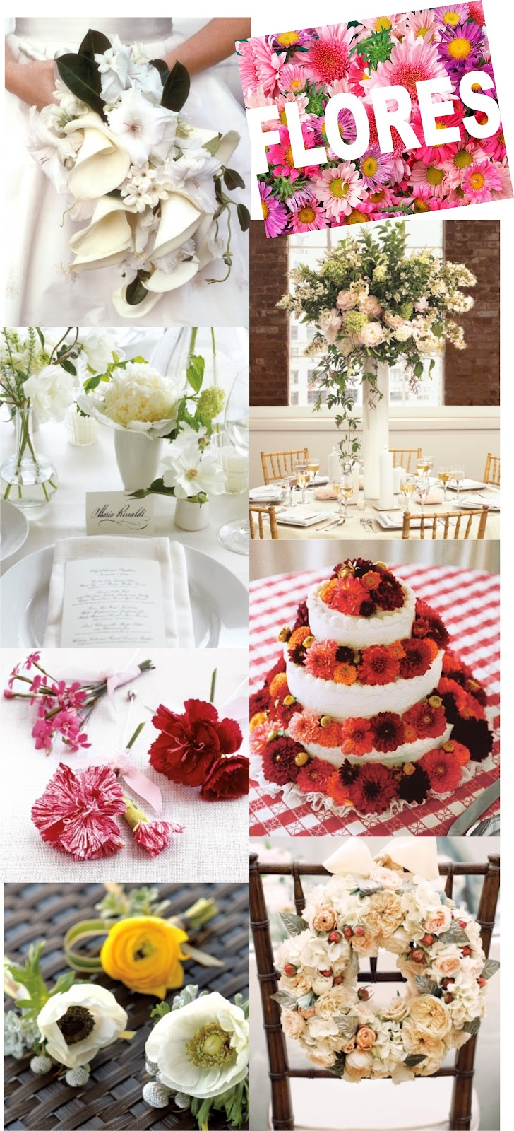 De lacinhos a flores: veja bolos de casamento com decoração