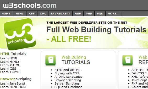 w3school tutorial offline version for download