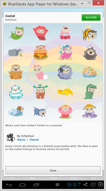 Cara Download Sticker Premium BBM Android Secara Gratis 3
