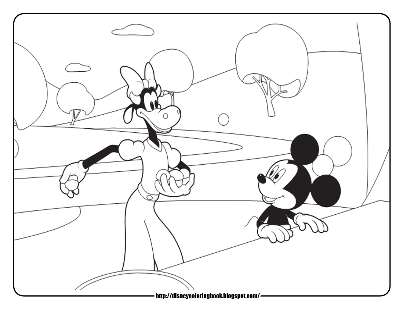 Minnie Bowtique Coloring Pages Mickey Mouse Coloring Pages