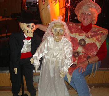 """Norma the Pizza"" for Halloween"