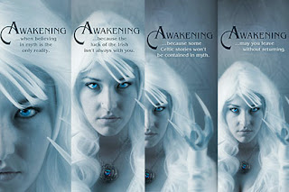 "Artwork for Christy Dorrity's debut fiction novel ""Awakening"""