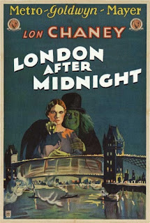 How did London After Midnight get the band name - Horror film poster - Tod Browning