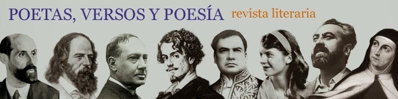 Revista literaria: Poetas, Versos y Poesía.