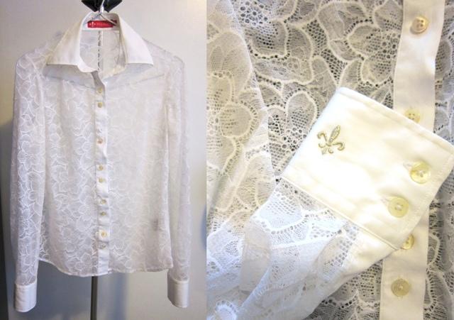 moda estilo camisa dudalina renda branca preta corte costura