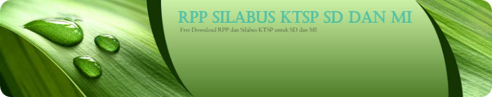 RPP SILABUS KTSP SD dan MI BERKARAKTER