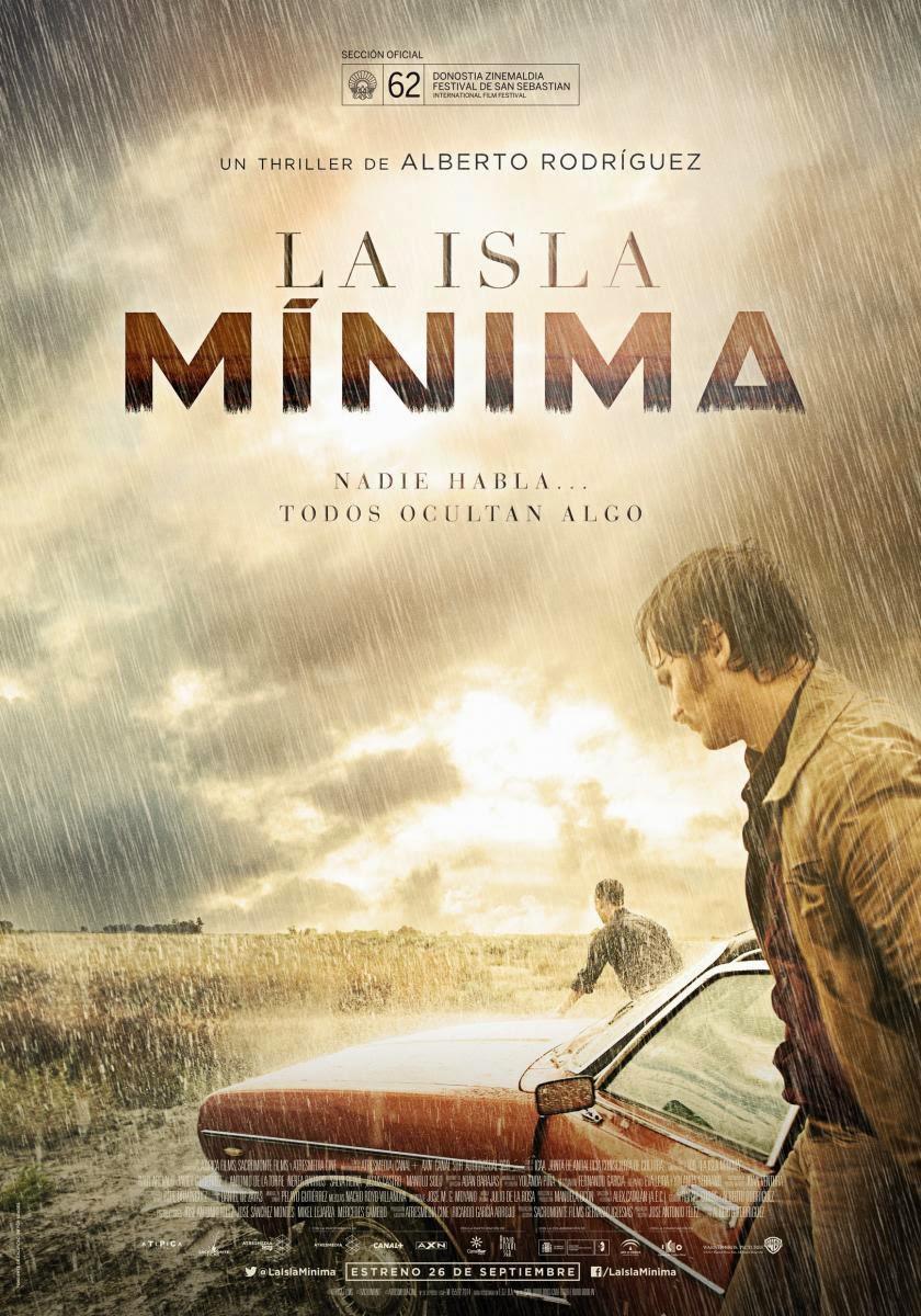 Póster de 'La isla mínima', de Alberto Rodríguez (2014)