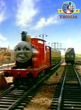 Toby Thomas the tank engine James the train engine transportation passenger railway express coaches