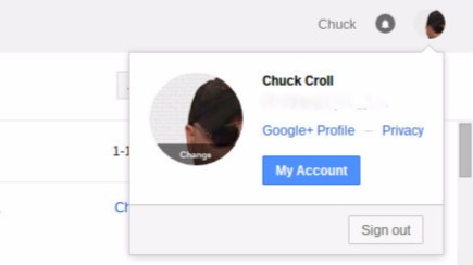 how to find my google+ page email