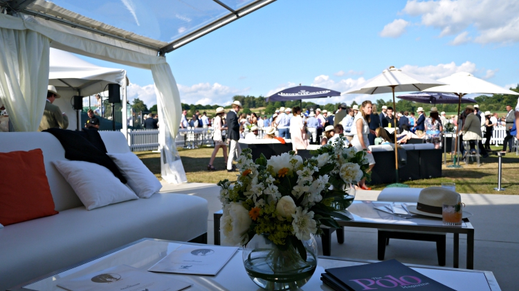 Jaeger-LeCoultre Gold Cup VIP Enclosure at Cowdray Polo