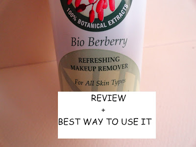 REVIEW: Biotique Bio Berberry Refreshing Makeup Remover image