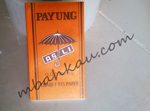 kertas linting cap payung